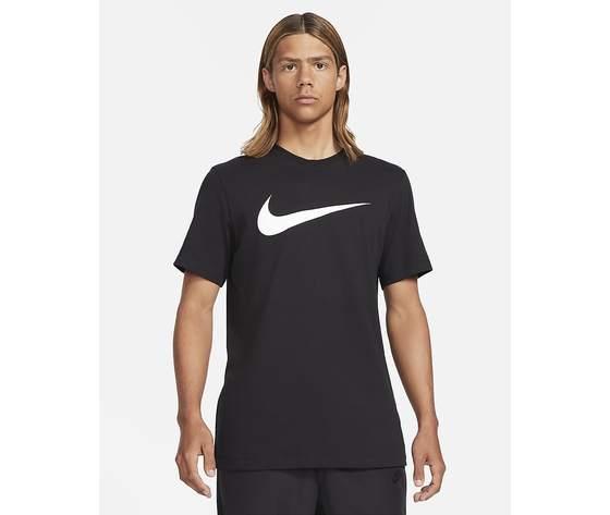 T shirt uomo nera nike sportswear swoosh bianco art. dc5094 010