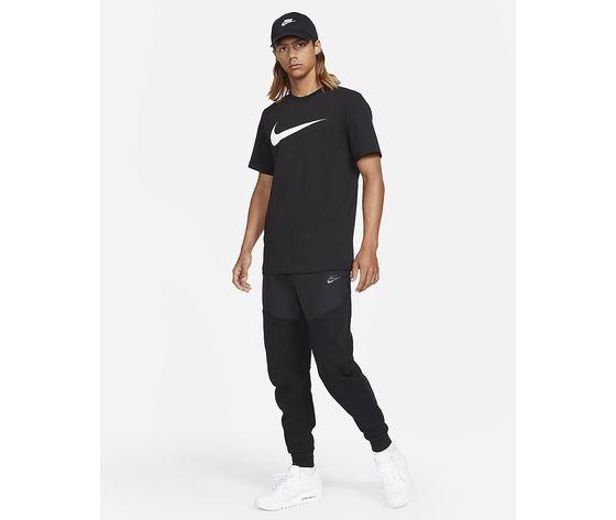 T shirt uomo nera nike sportswear swoosh bianco art. dc5094 010 3