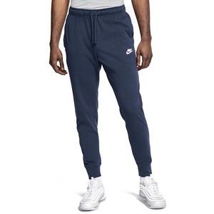 Pantalone Nike Blu Uomo Cotone Club Jersey Men's Pants Jersey art. BV2762 410