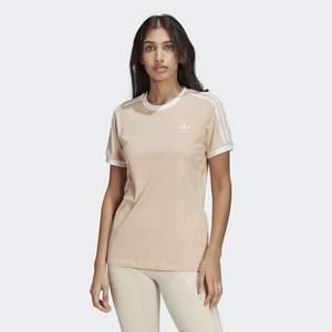 T-Shirt Donna Rosa Adidas Originals Adicolor Classics 3 Stripes Pink art. GT4262