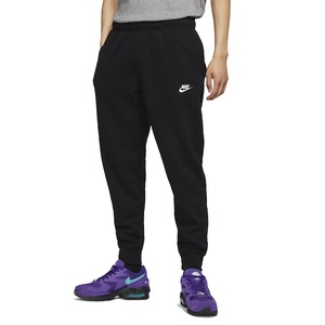 Pantalone Nike Nero Uomo Cotone Club Jersey Joggers Cotone art. BV2762 010