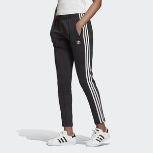 Pantalone Track Donna Neri Adidas Originals Primeblue SST 3 Stripes White art. GD2361