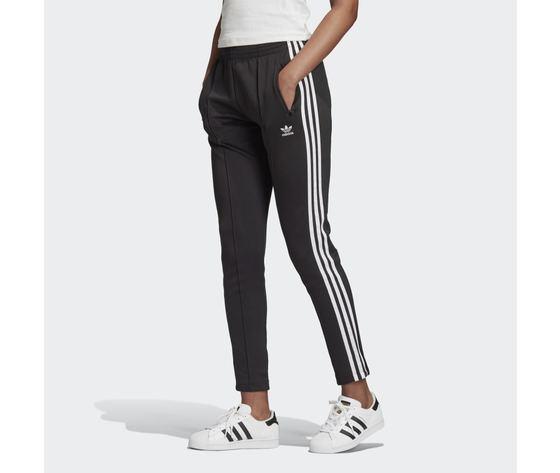 Pantaloni track donna neri adidas originals primeblue sst 3 stripes white art. gd2361