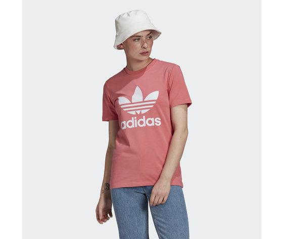 T shirt donna rosa adicolor classics trefoil jersey art. gn2907