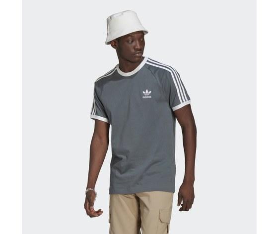 T shirt uomo blu adidas originals adicolor classics 3 stripes blue oxide art. gn3500