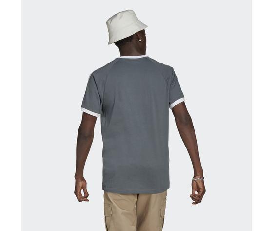 T shirt uomo blu adidas originals adicolor classics 3 stripes blue oxide art. gn3500 1