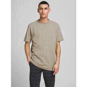 Tshirt grigio cotone biologico Uomo Elephant skin Essential JPRBLAWAYN Jack&Jones Premium art. 12187232-ES