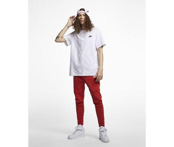T shirt bianca nike logo piccolo essential art. ar4997 101  2