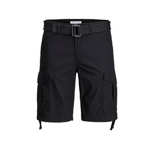 Bermuda Con tasconi Nero  Jack&Jones  Cargo Pantaloncino art. 12166338 Nero