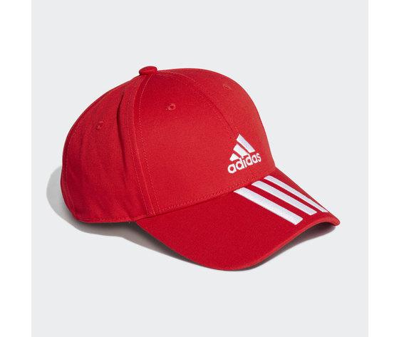 Cappello adidas rosso baseball 3 stripes twill cap red gm6269 01 2