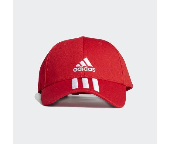 Cappello adidas rosso baseball 3 stripes twill cap red gm6269 01 standard