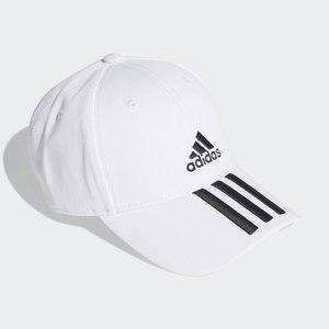 Cappello Adidas Bianco Baseball 3 Stripes Strisce art. FQ5411