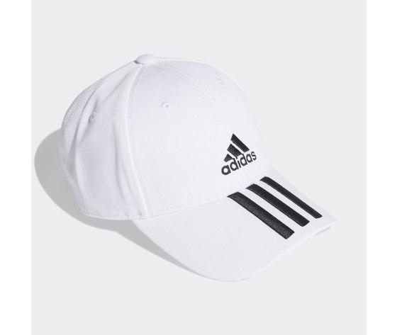 Cappello adidas bianco baseball 3 stripes twill cap white fq5411 01 2