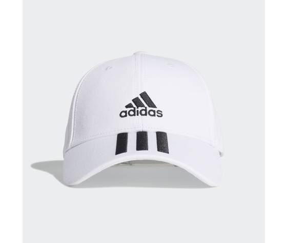 Cappello adidas bianco baseball 3 stripes twill cap white fq5411 01 standard