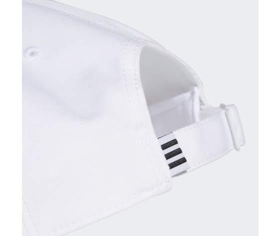 Cappello adidas bianco baseball 3 stripes twill cap white fq5411 01 5