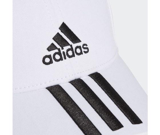 Cappello adidas bianco baseball 3 stripes twill cap white fq5411 01 4