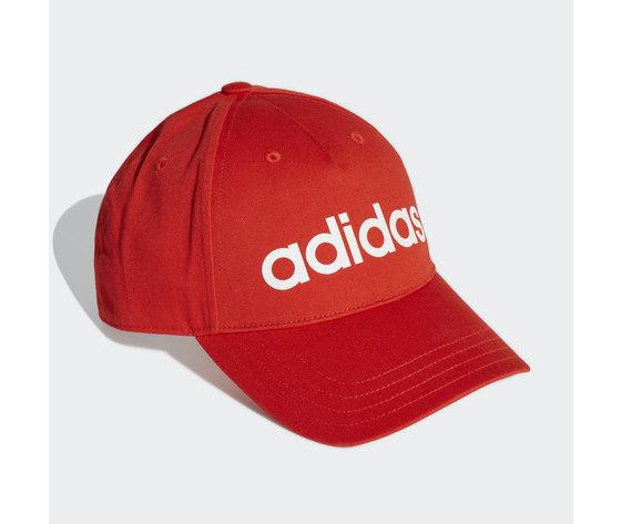Cappello adidas rosso cappellino daily rosso ge1163 01 standard 2