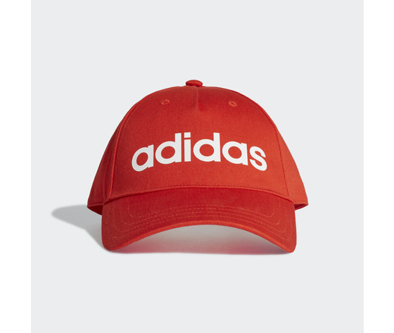 Cappello adidas rosso cappellino daily rosso ge1163 01 standard