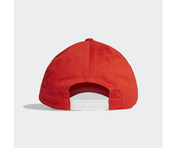 Cappello adidas rosso cappellino daily rosso ge1163 01 standard 1
