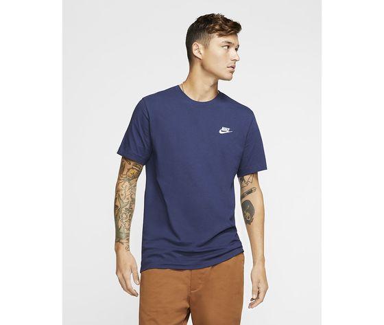 T shirt blu nike logo piccolo essential art. ar4997 410 1