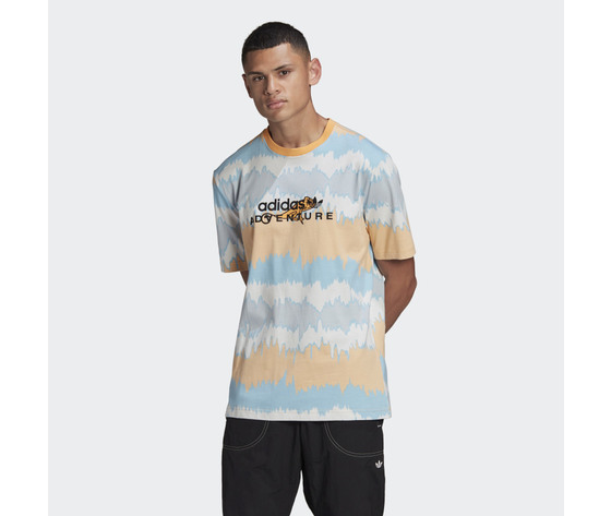 T shirt adidas adventure archive printed arancione gn2361 21 model
