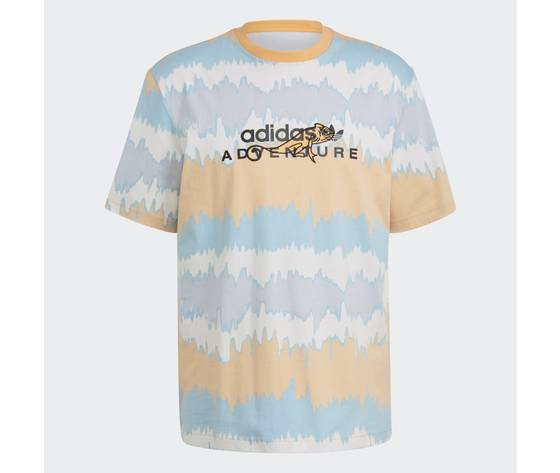 T shirt adidas adventure archive printed arancione gn2361 01 laydown