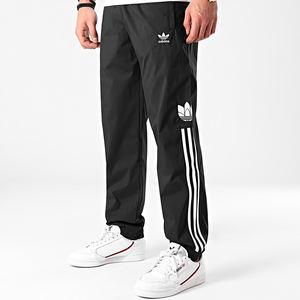Pantalone Adidas Nero Uomo Adicolor Trefoil 3D 3Stripes art. GN3543