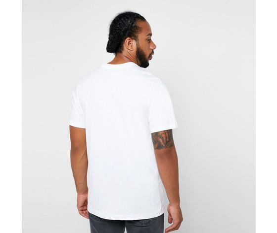 T shirt maglietta bianca nike logo art. ar5004 100 2