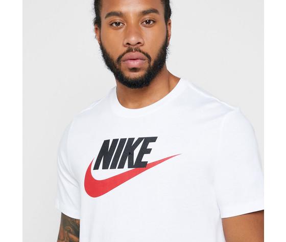 T shirt maglietta bianca nike logo art. ar5004 100 1