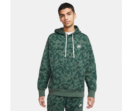 Felpa con cappuccio nike mimetica militare verde camo art. da0055 337