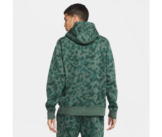 Felpa con cappuccio nike mimetica militare verde camo art. da0055 337 1