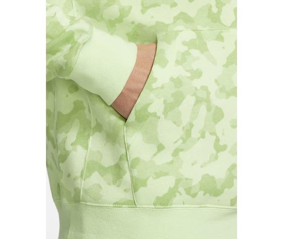 Felpa con cappuccio nike mimetica militare verde lime camo art. da0055 383 2
