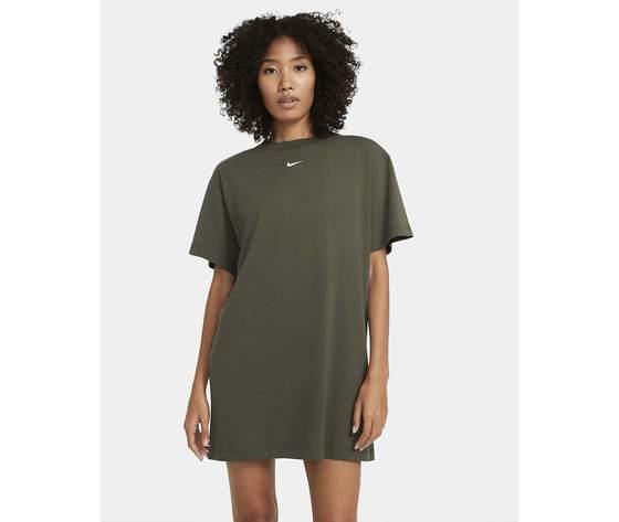 Vestito nike abito donna cotone verde militare verdone art. cj2242 325 %281%29