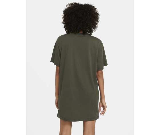 Vestito nike abito donna cotone verde militare verdone art. cj2242 325 %282%29