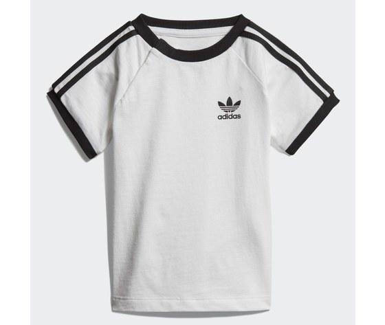 T shirt 3 stripes bianco dv2824 01 laydown