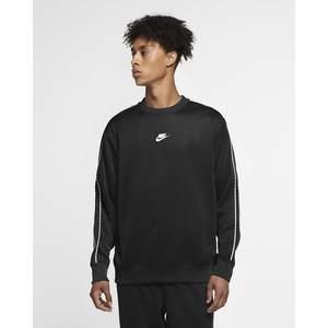 Felpa Nike Nera Repeat Swoosh Pack Girocollo PK art. CZ7824 010