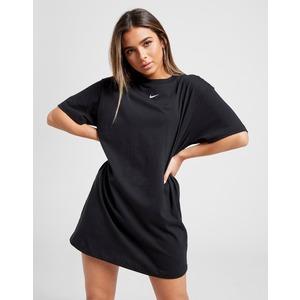 Abito Nike Nero Vestito Essential Donna Ragazza Logo mini Bianco art. CJ2242 010
