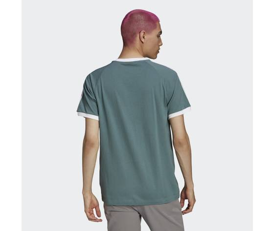 T shirt adicolor classics 3 stripes verde gn3479 23 hover model