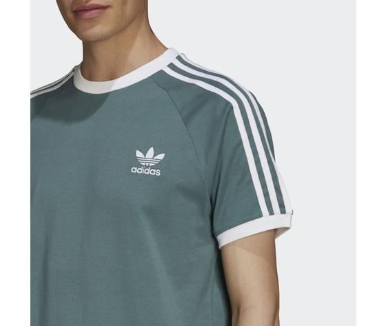 T shirt adicolor classics 3 stripes verde gn3479 41 detail