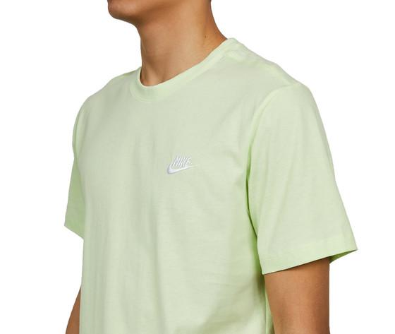 Tshirt giallo fluo nike essential logo piccolo art. ar4997 383 3