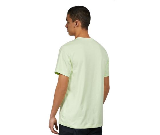 Tshirt giallo fluo nike essential logo piccolo art. ar4997 383 1