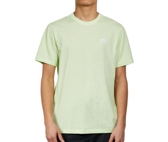 Tshirt giallo fluo nike essential logo piccolo art. ar4997 383 2