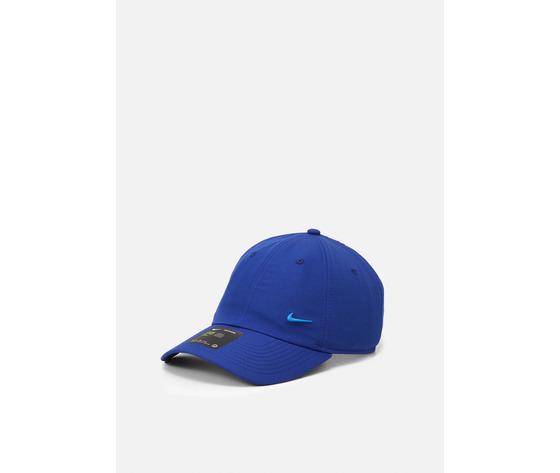 Cappello blu elettrico nike logo in metallo swoosh metal art. 943092 455 %281%29