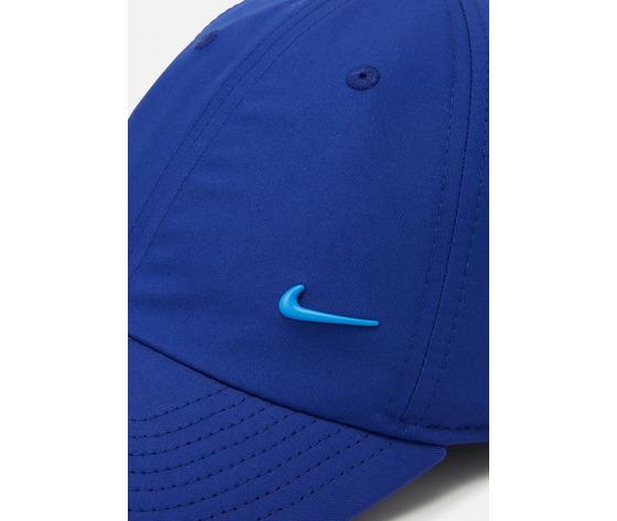 Cappello blu elettrico nike logo in metallo swoosh metal art. 943092 455 %282%29