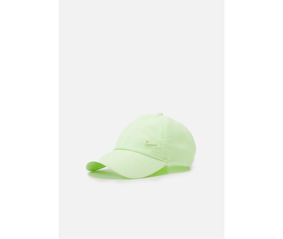 Cappello verde giallo fluo nike logo in metallo swoosh metal art. 943092 319 1 %283%29