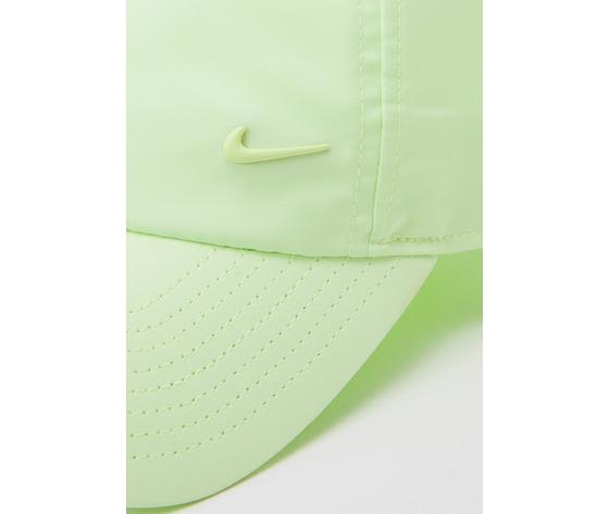 Cappello verde giallo fluo nike logo in metallo swoosh metal art. 943092 319 1 %282%29