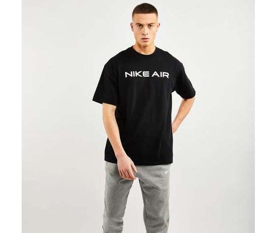 Tshirt nike nero air logo cotone art. da0304 010 1 %284%29
