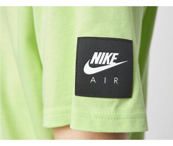 Tshirt nike verde giallo fluo air logo cotone art. da0304 383 1 %284%29