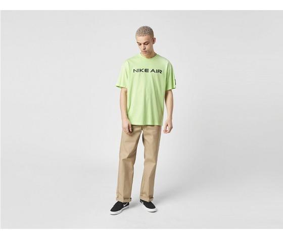 Tshirt nike verde giallo fluo air logo cotone art. da0304 383 1 %285%29