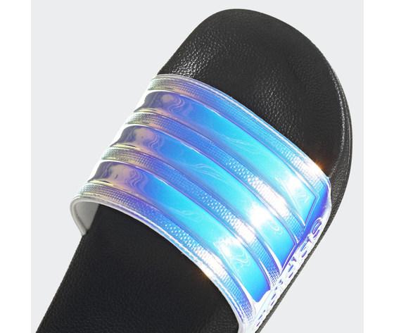 Ciabatte adidas iridescenti adilette shower nero fy8178 01 standard 3